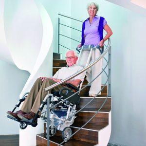 Scalamobil Engelli Merdiven Çıkma-İnme Cihazı 1