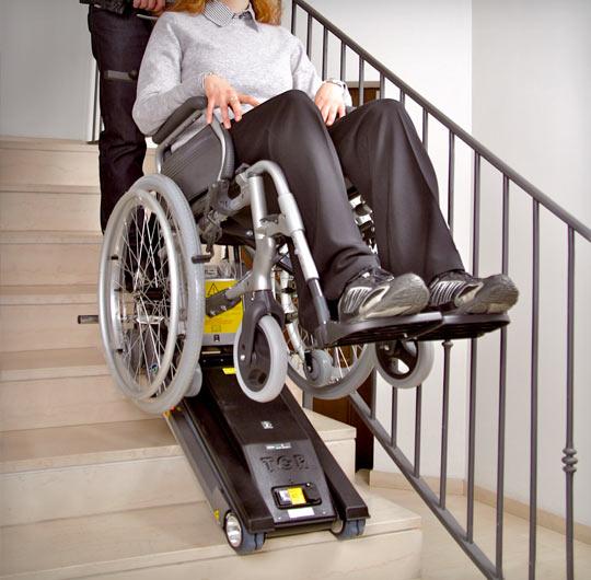 Jolly Standart Engelli Merdiven Çıkma-İnme Cihazı 4