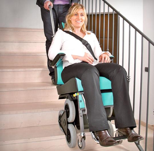 Scoiattoli 2000 Döner Merdiven Çıkma-İnme Cihazı 1