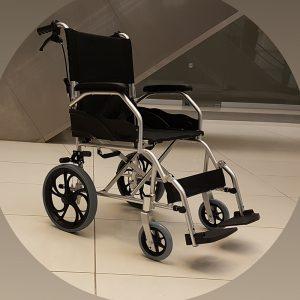 Leo 124 Refakatçi Kullanımlı Tekerlekli Sandalye 1