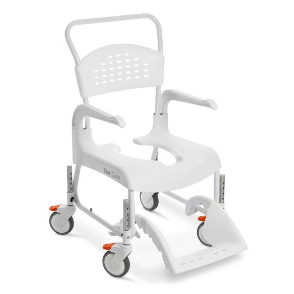 Etac Clean Yüksekliği Ayarlanabilir Banyo ve Tuvalet Sandalyesi 1