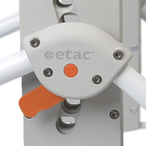 Etac Swift Mobile Banyo ve Tuvalet Sandalyesi 4