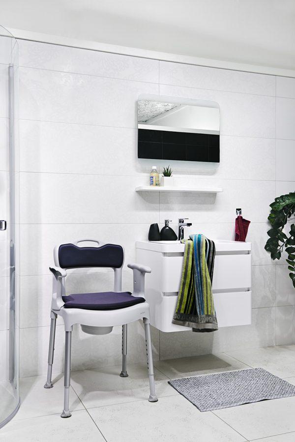 Etac Swift Commode Banyo ve Tuvalet Sandalyesi 6