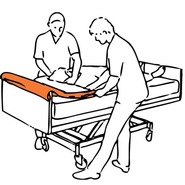 Immedia Hasta Kaydırma ve Pozisyonlama Kumaşı 5