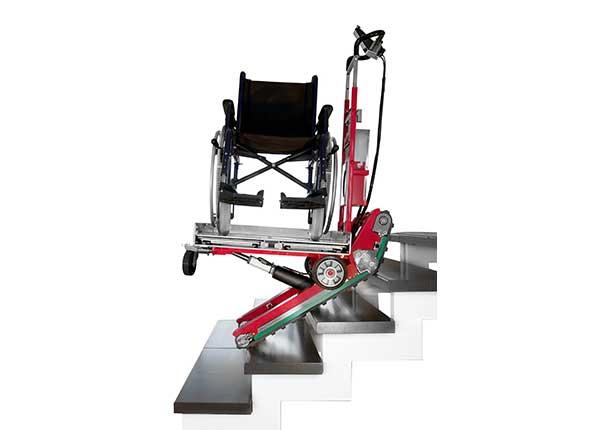 Domino Merdiven Çıkma-İnme Cihazı, Platform Tipi, Spiral Dönerli 2