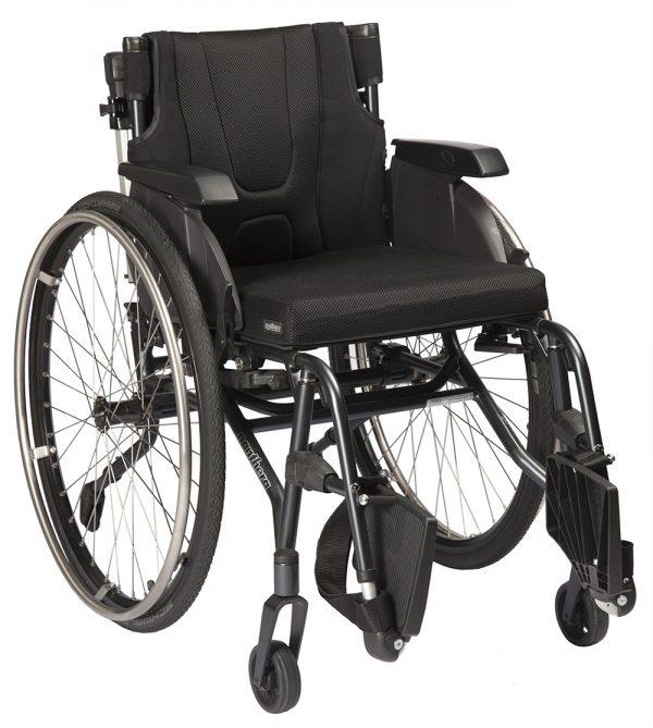 S3 Swing Short Aktif Tekerlekli Sandalye 2