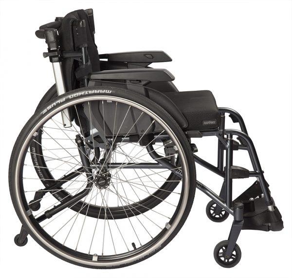 S3 Swing Short Aktif Tekerlekli Sandalye 4
