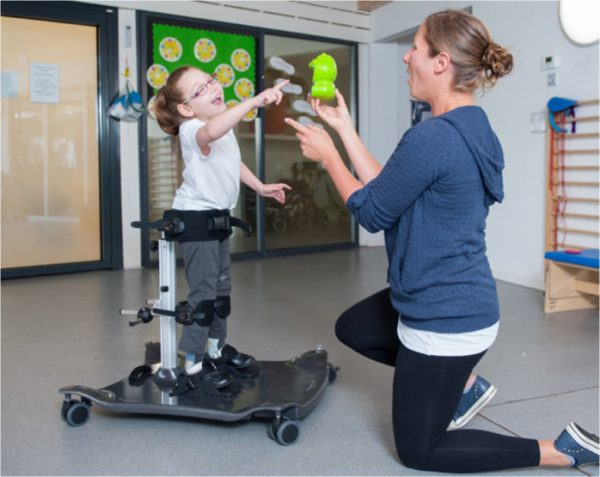 Meerkat Engelli Çocuk Ayakta Durma ve Salınım Sehpası 7