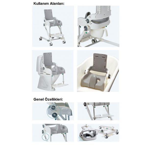 R82 Flamingo Engelli Çocuk Banyo ve Tuvalet Sandalyesi 3
