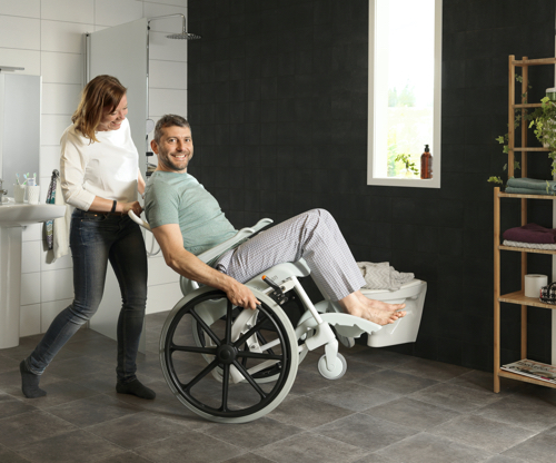 Clean 24 inc banyo tuvalet sandalyesi metin içi