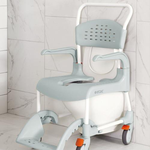 Etac Clean Banyo ve Tuvalet Sandalyesi metin için