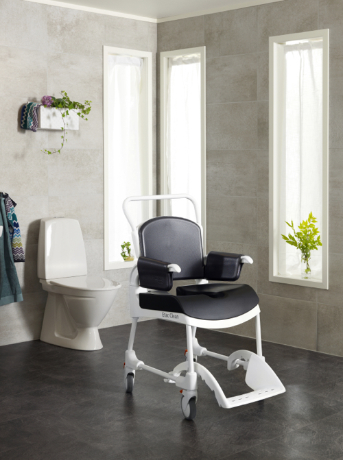 Etac Clean Comfort Banyo Tuvalet Sandalyesi Metin İçi
