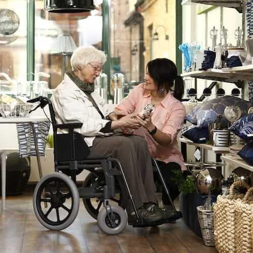 Etac M100TR Tekerlekli Sandalye metin içi