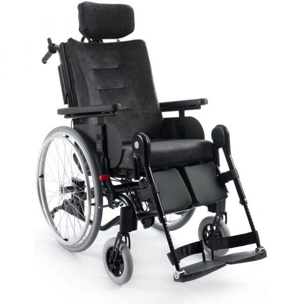 Prio Tekerlekli Sandalye Peluş ayarlanabilir başlık