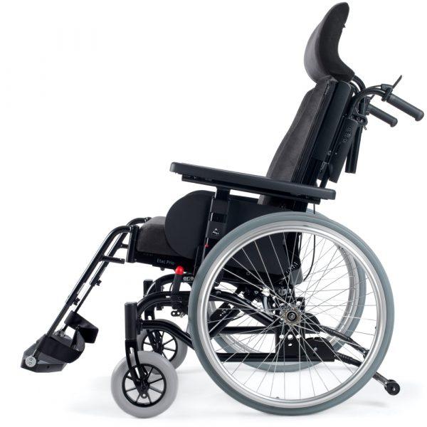 Prio Tekerlekli Sandalye Peluş geniş başlık yandan