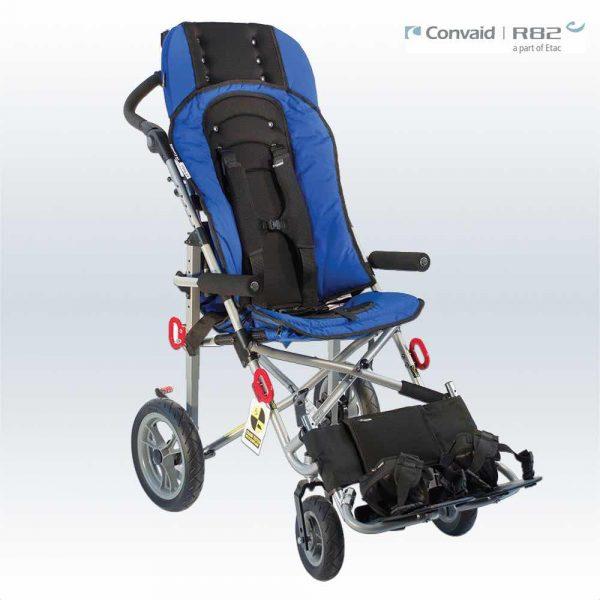 Convaid Ez Rider Büyük Baston Çocuk Arabası, Büyük Çocuk Puseti_1