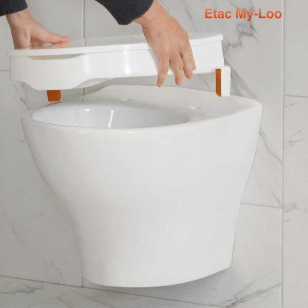 Etac My-Loo Klozet Yükseltici 1